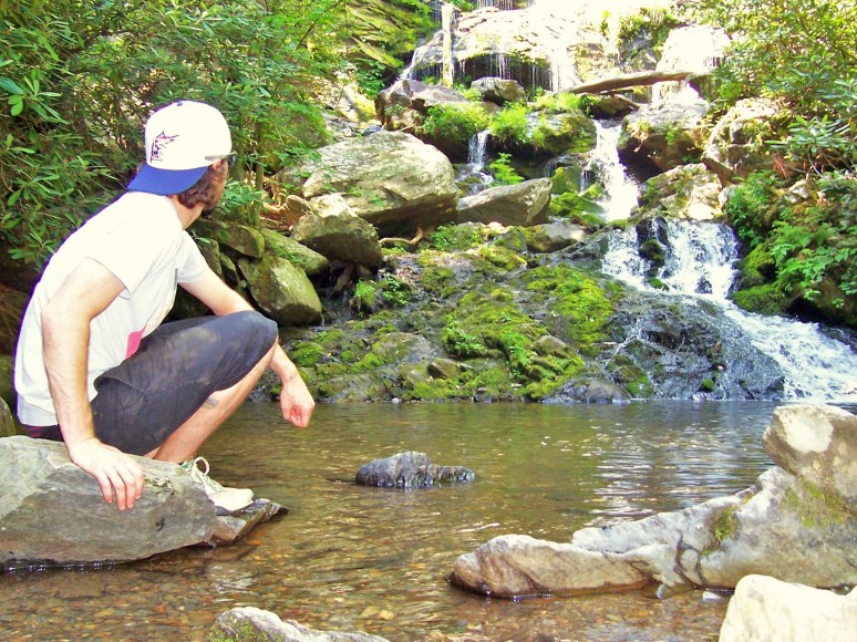 Catawba lower falls pool