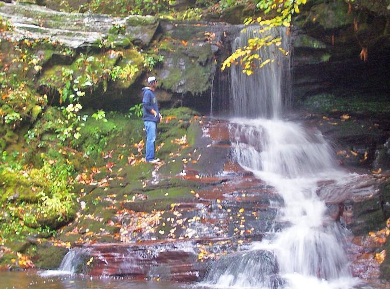 Catawba dam falls