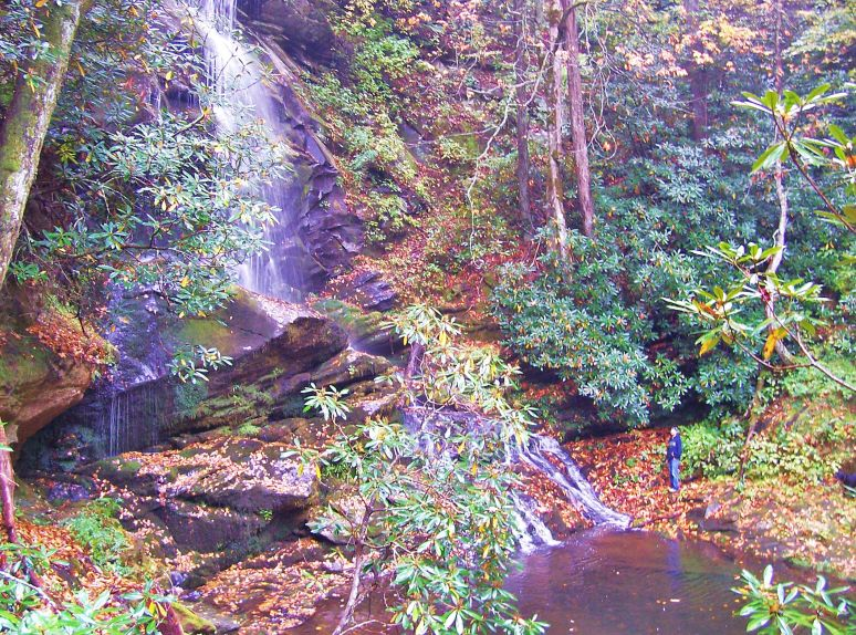 Catawba Upper Falls Gorge