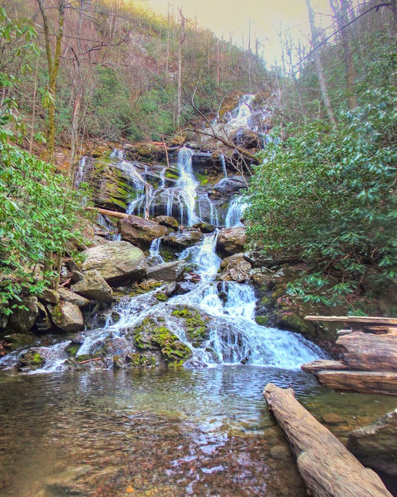 Catawba Falls lower