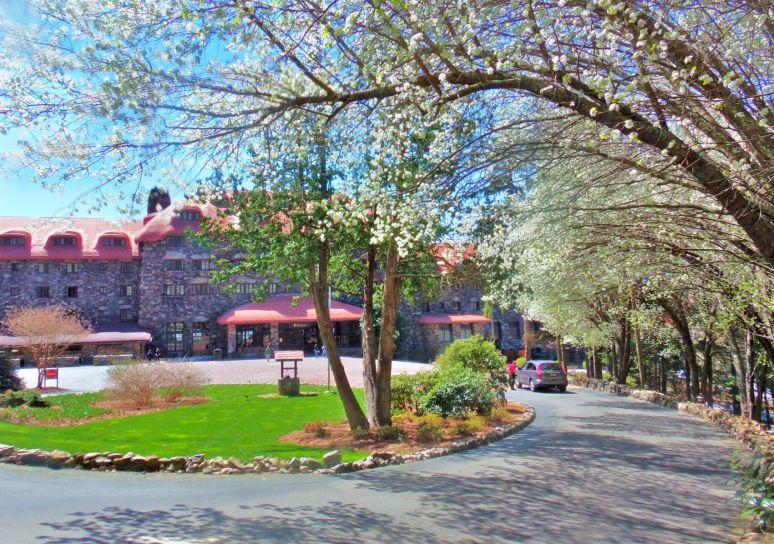 Grove Park Inn in Spring