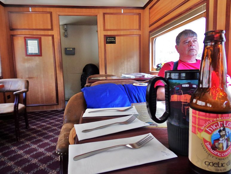 Smoky Mountains Railway lunch