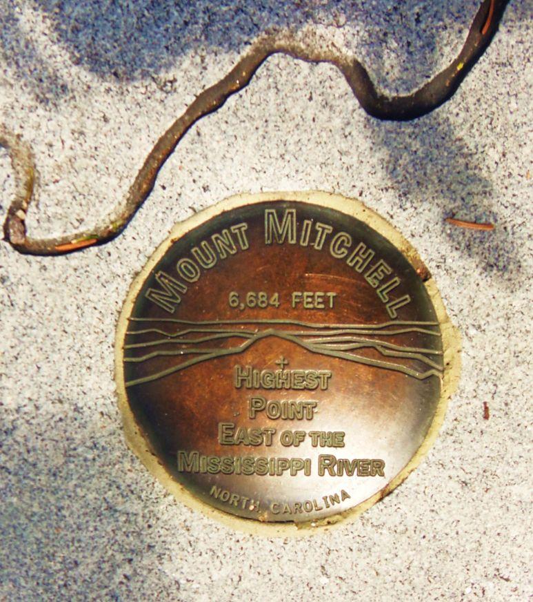 Mt. Mitchell Medalion