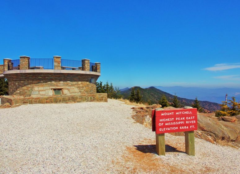 Mt. Mitchell Observation Platform