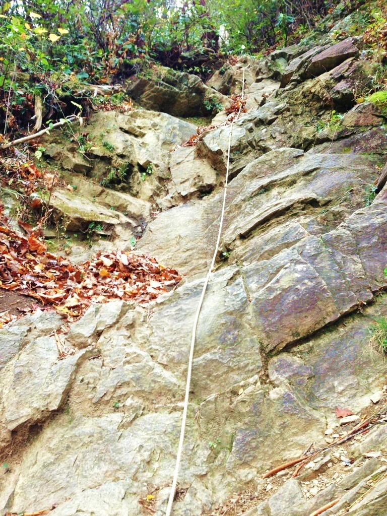 Catawba Falls Rope Climb