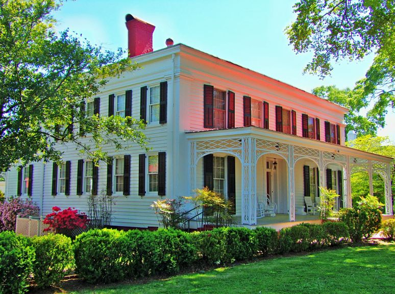 Madison, Ga. Stokes McHenry House