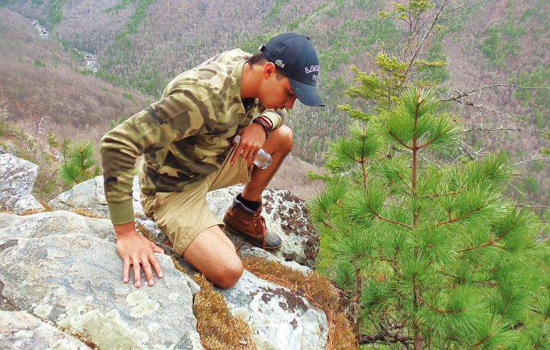 Linville Gorge  Hiker
