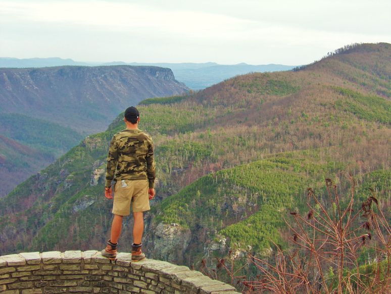 Linville Gorge Wiseman's Wall