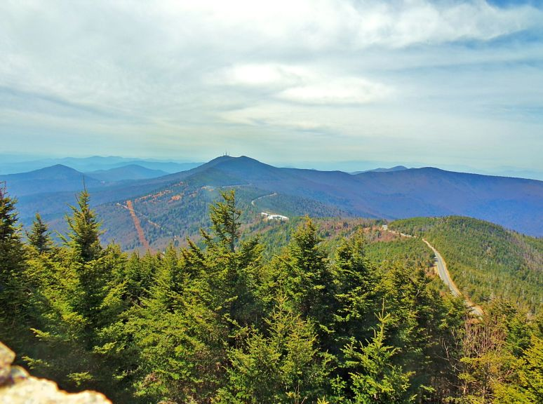 Mt. Mitchell Southeast View