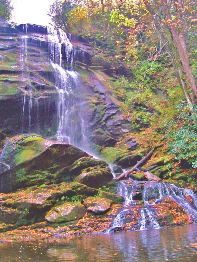 Catawba Upper Falls pool