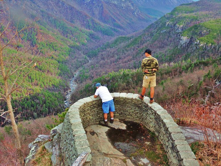 Linville Gorge Wiseman's Overlook