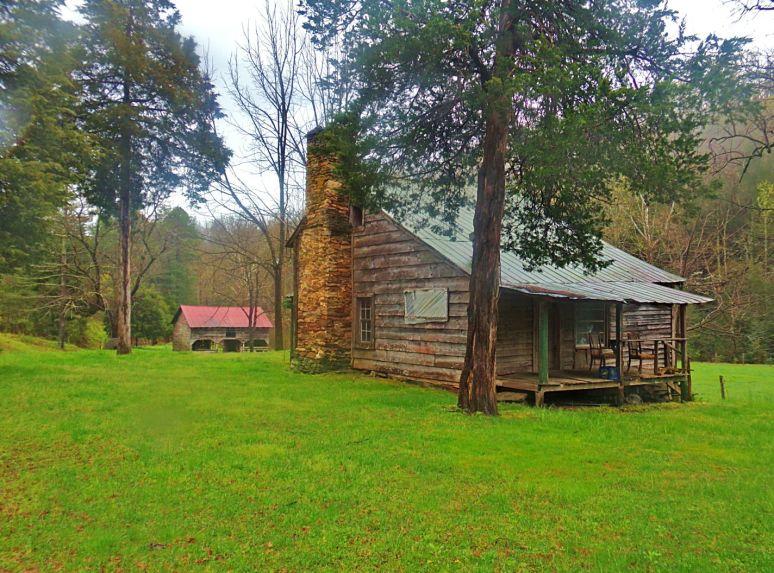 Mountain Houses Along the Blue Ridge
