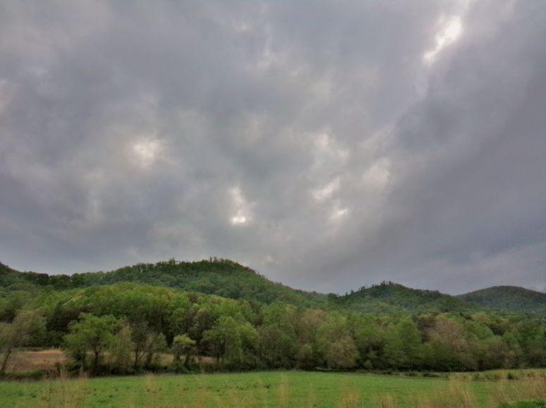 Mountain Storm in the Blue Ridge