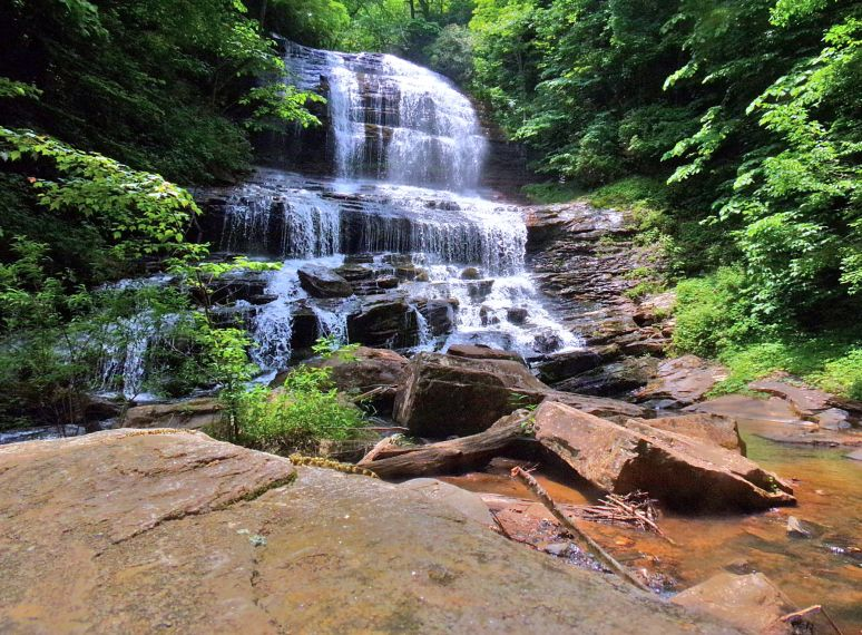 Pearson's Falls in May