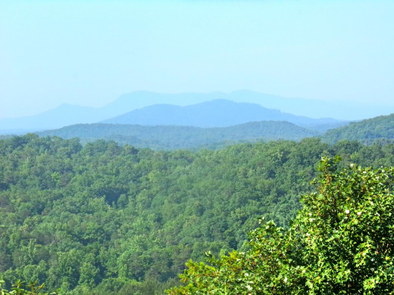 Tryon Mountain in Summer