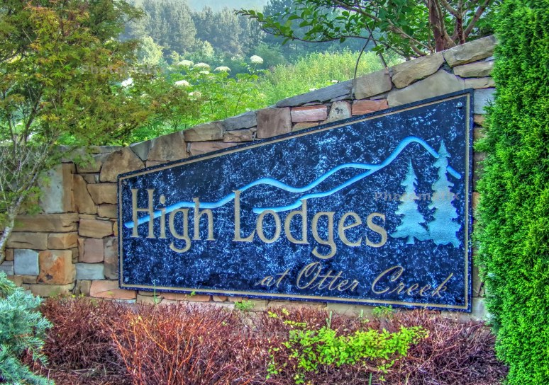 High Lodges Sign