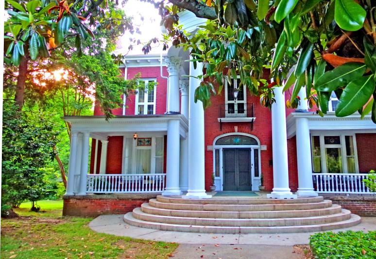 Salisbury Red Brick Mansion