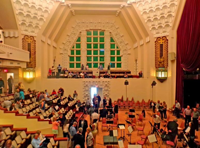 Scottish Rite Miami Audience Seating