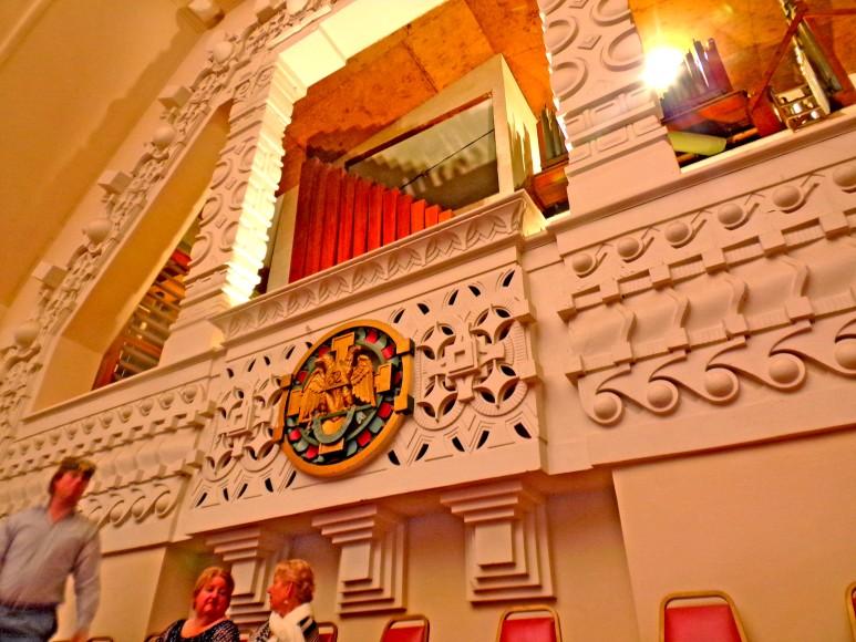 Scottish Rite Miami Organ Wall