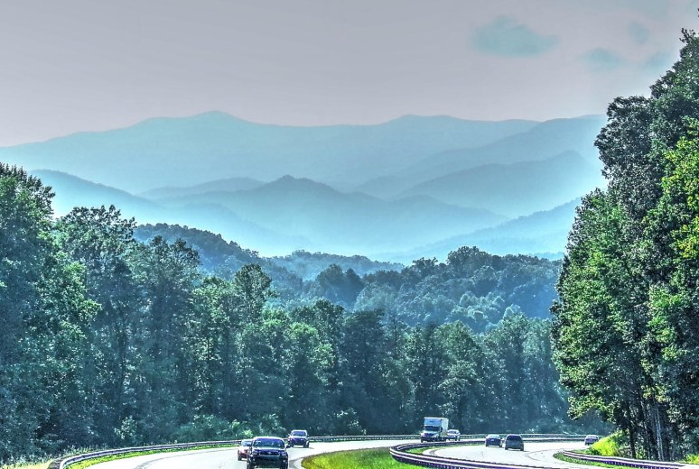 Black Mountains from I-40