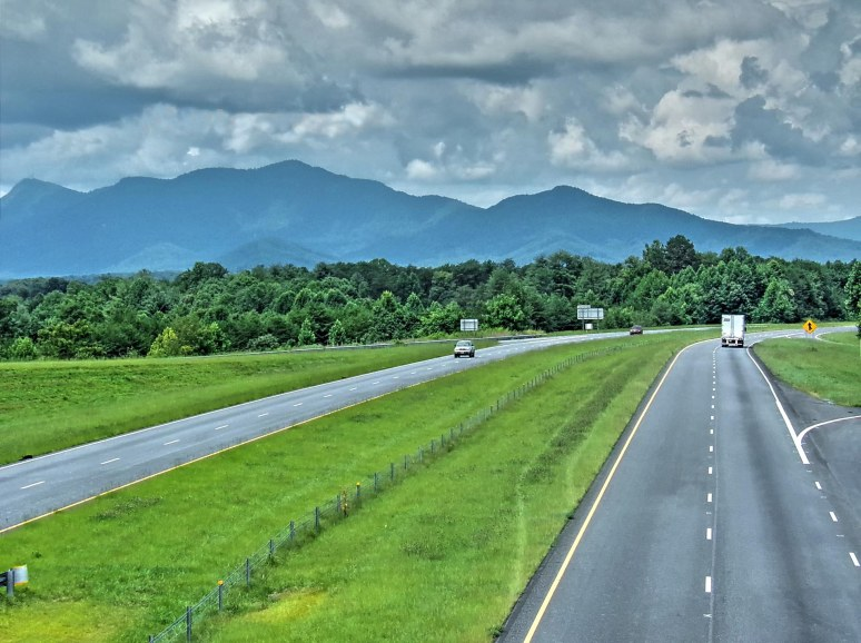 Tryon Mountain from US Highway 74