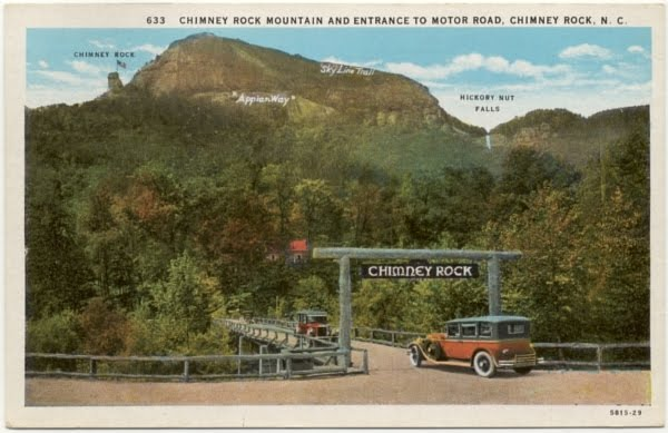 Chimney Rock Entrance 20s