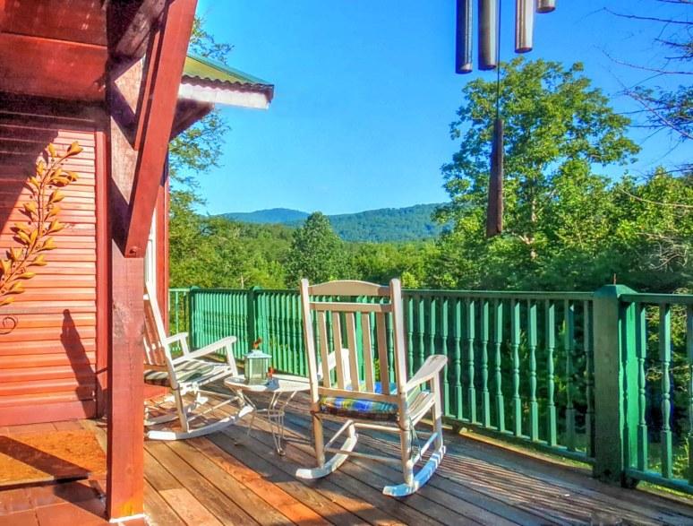 Hemlock House Summer Deck View