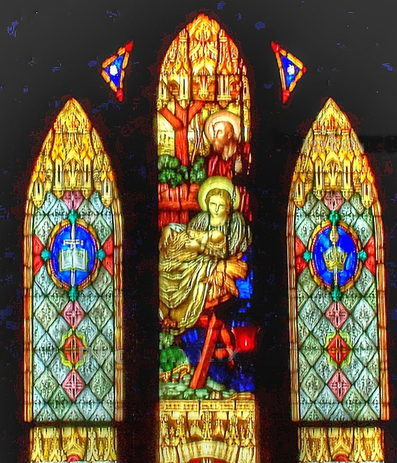 St. Francis Altar Window Rutherfordton
