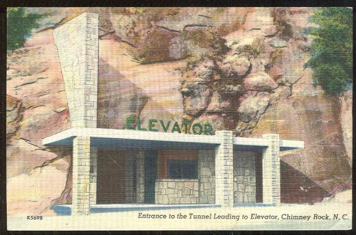 Chimney Rock Elevator