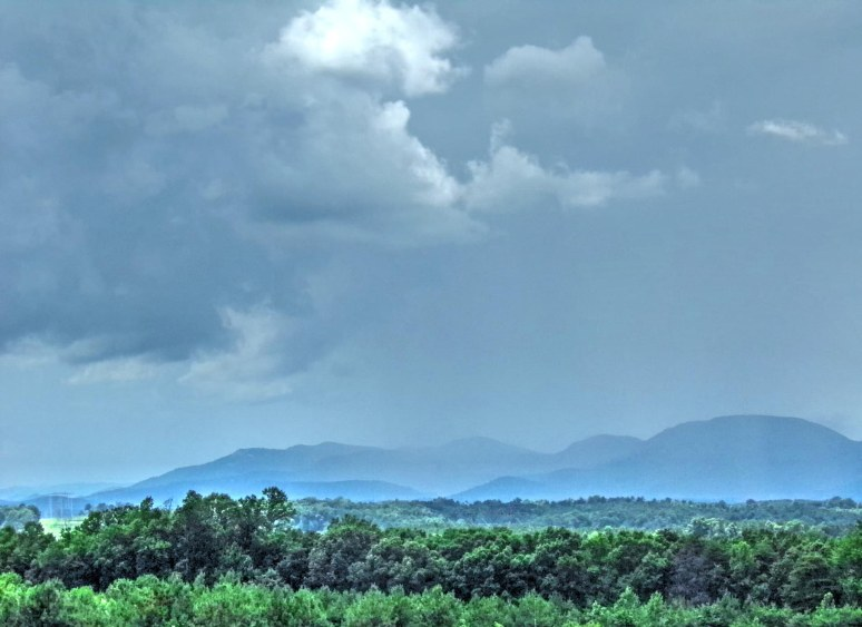 Storm along the Blue Ridge Escarpment
