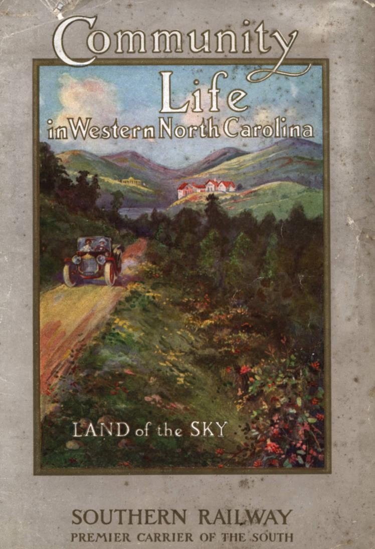 Land of the Sky postcard 1