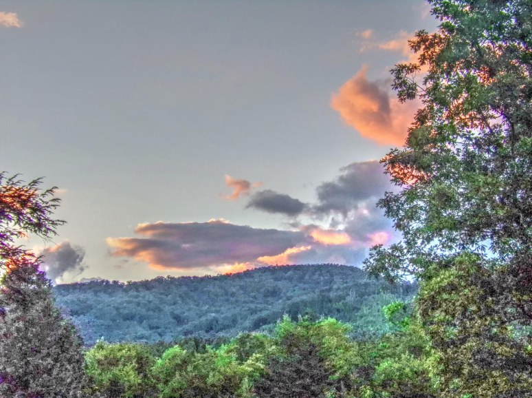 Summer Sunset Over Bear Gap