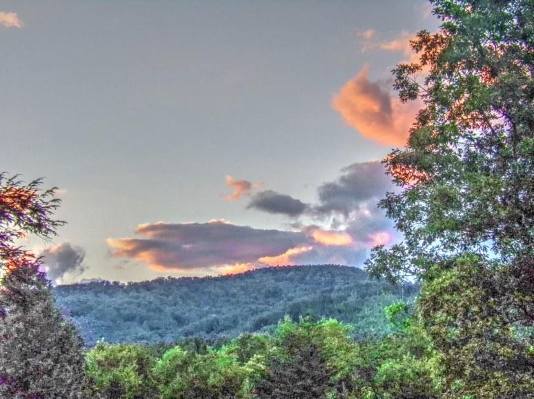 Summer Sunset Over Bear Gap