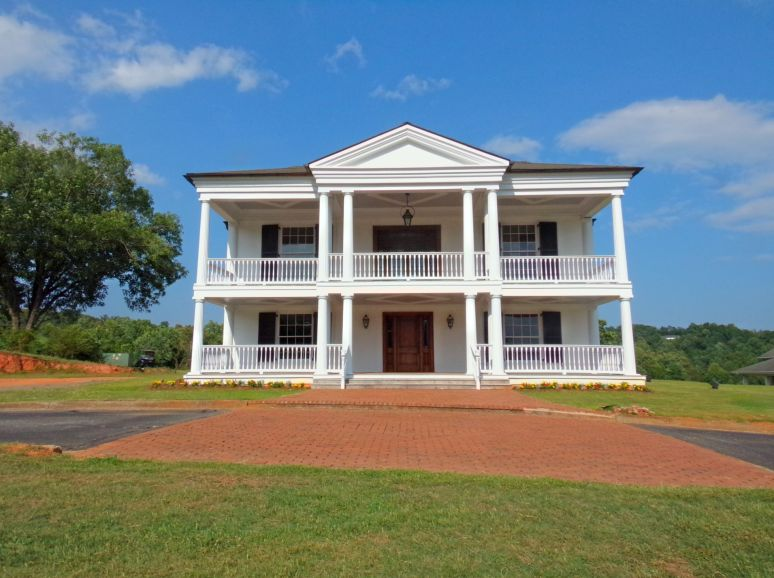 Cleghorn Plantation Front Elevation
