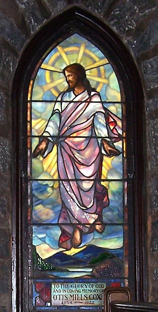 St. Francis Rutherfordton Jesus Window