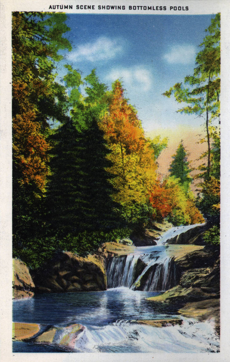 Vintage Postcards Of Lake Lure And Chimney Rock Living In The Blue Ridge Mountains Of North