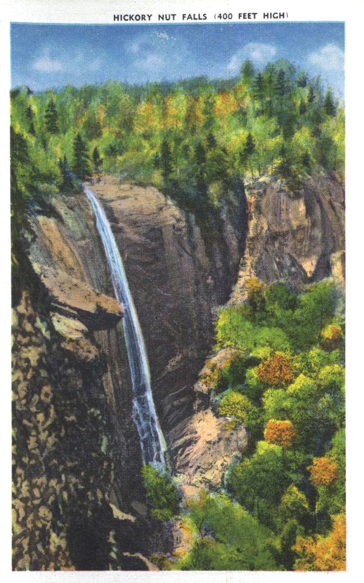 Hickorynut Falls postcard 2