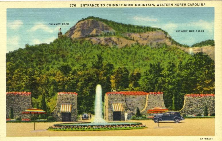 Chimney Rock Entrance