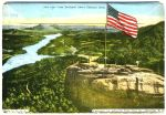 Chimney Rock postcard flag 1
