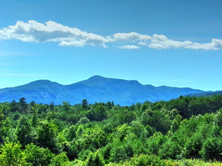 Mount Shumont Clouds