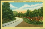 Lake Lure postcard road 1