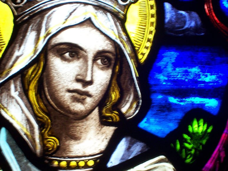 St. Francis Stained Glass Elizabeth