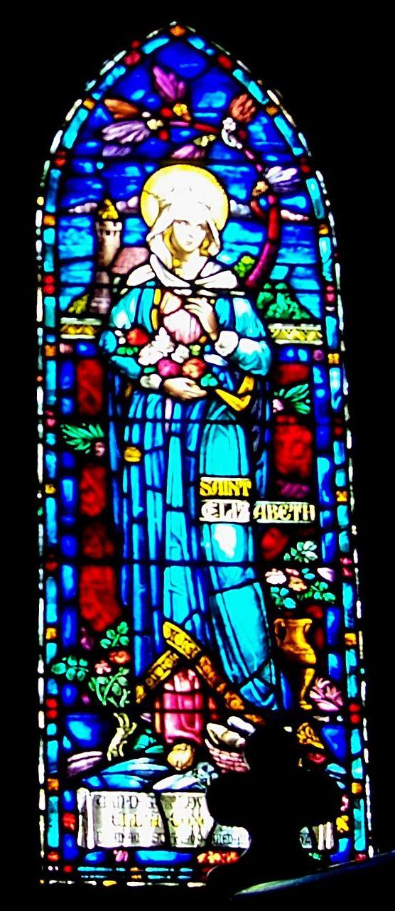 St. Francis Rutherfordton Elizabeth glass