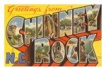 Chimney Rock postcard6