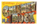 Chimney Rock postcard 6