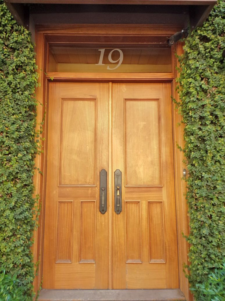 Savannah Mahogany Door