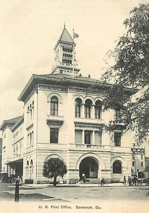 Savannah Post Office Courts