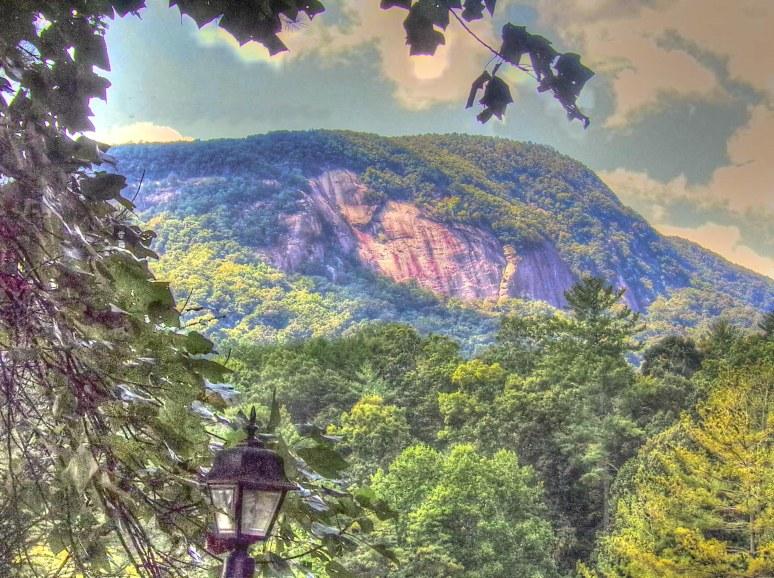 Rumbling Bald Mountain View