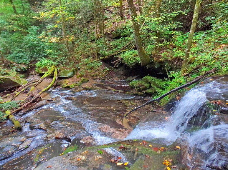 Cedar Creek Falls Grotto