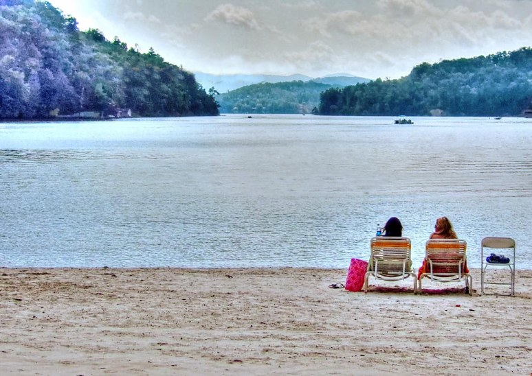 Rumbling Bald Lake Lure Beach